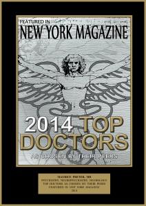 Psychiatrist-Neuropsychiatrist-Neurologist Maurice Preter MD Nominated To Castle Connolly / New York Magazine Best Doctors of New York 2014